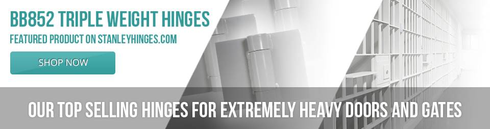 Commercial Door Hinges: Stainless Steel & Continuous Hinges